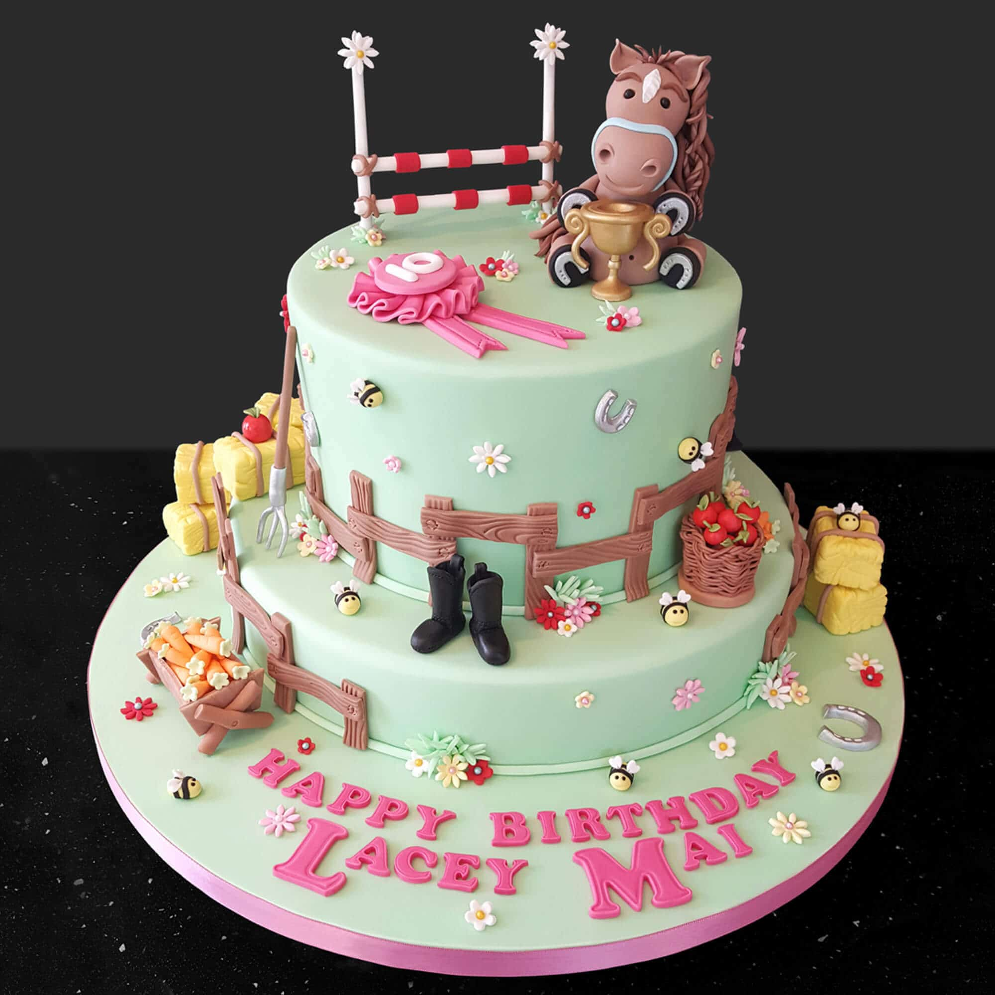 Pony themed cake design by Crafter in the Spotlight participant Cake No Mistake