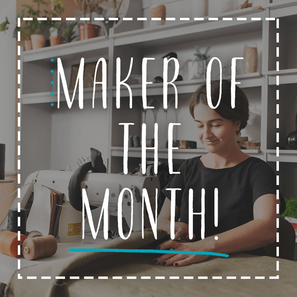 Maker of the Month competition ran by CraftCover.