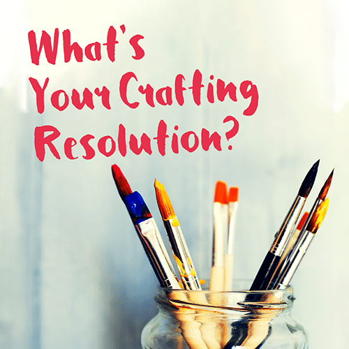 Tell us your crafting resolutions this January for the chance to win a CraftCover t-shirt or apron!