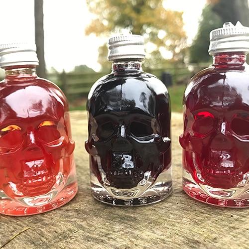 skull bottles hogg