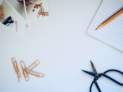 Scissors and clips