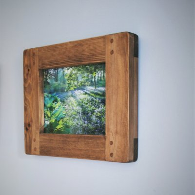 A stunning handmade wooden piece made by Marc Wood Bespoke Joinery.